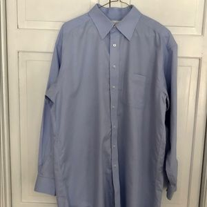 RoundTree & Yorke Gold Label Men Dress Shirt 16/34